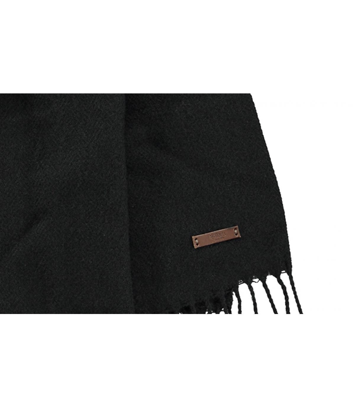 0e39ba2e5f7bc Echarpe homme noir - Soho scarf black Barts - image 1 ...