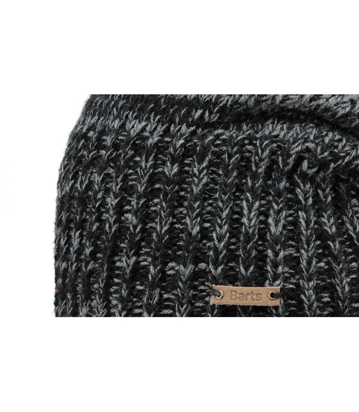 15fca933180 Bonnet long noir - Brighton beanie black par Barts.