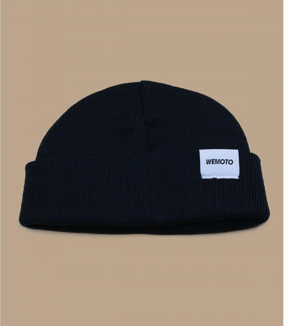 bonnet docker bleu marine Wemoto