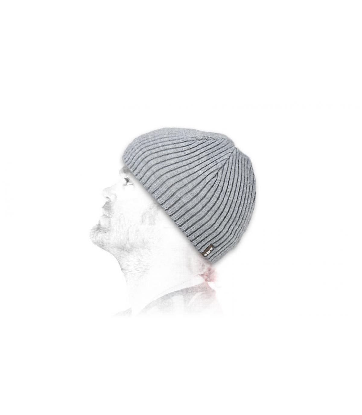 Détails Bonnet Wilbert heather grey - image 3