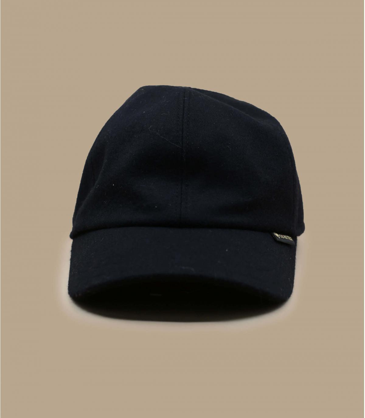 casquette Gore-Tex laine noir