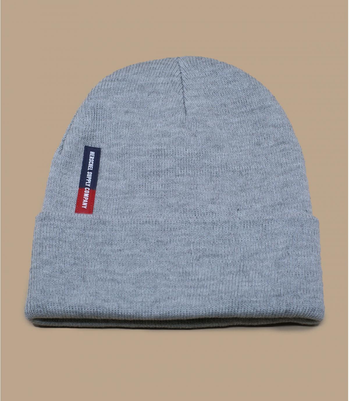 bonnet gris revers Herschel