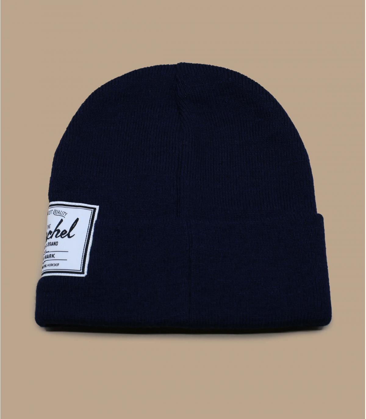 bonnet Herschel bleu marine