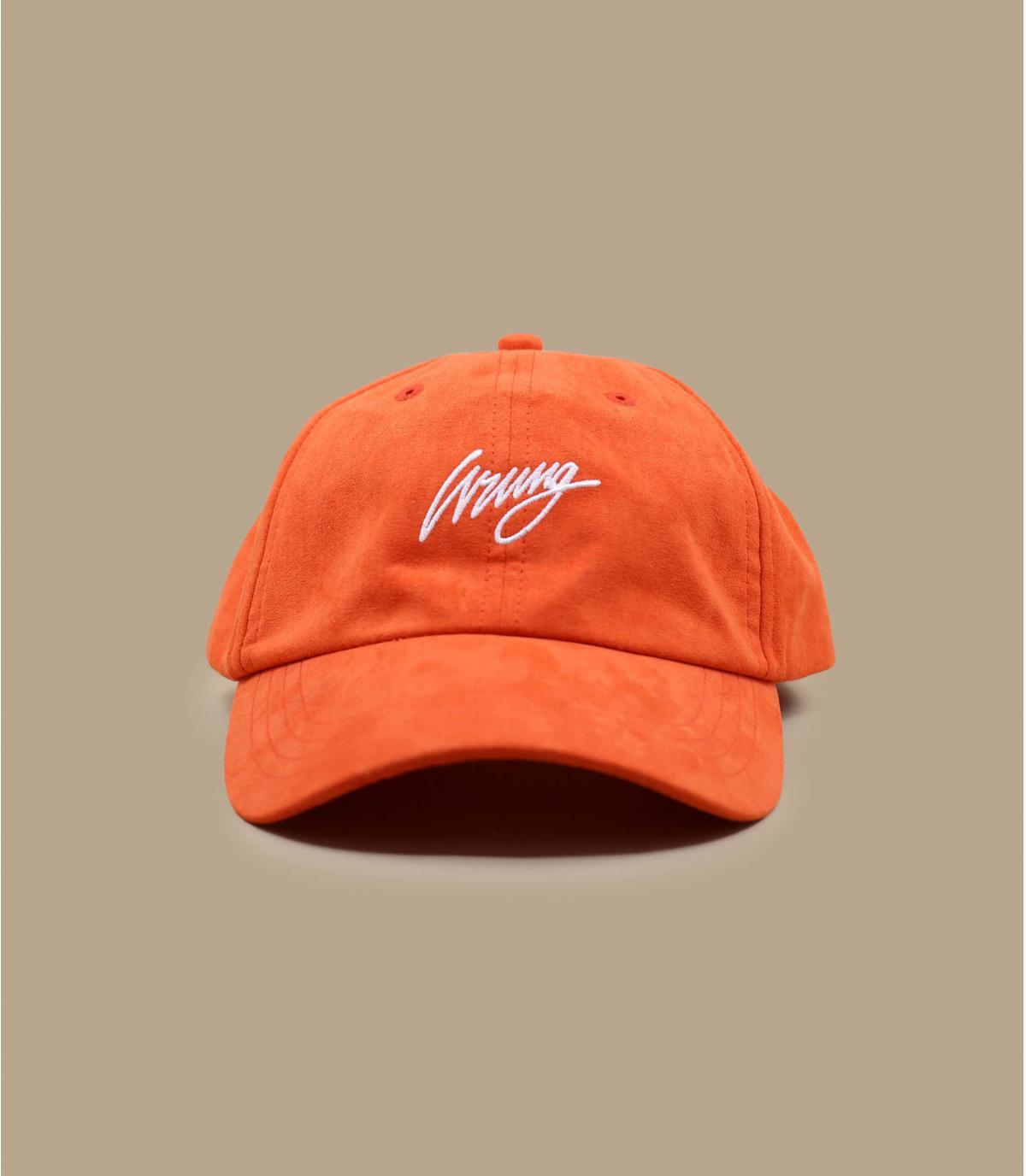 casquette orange Wrung