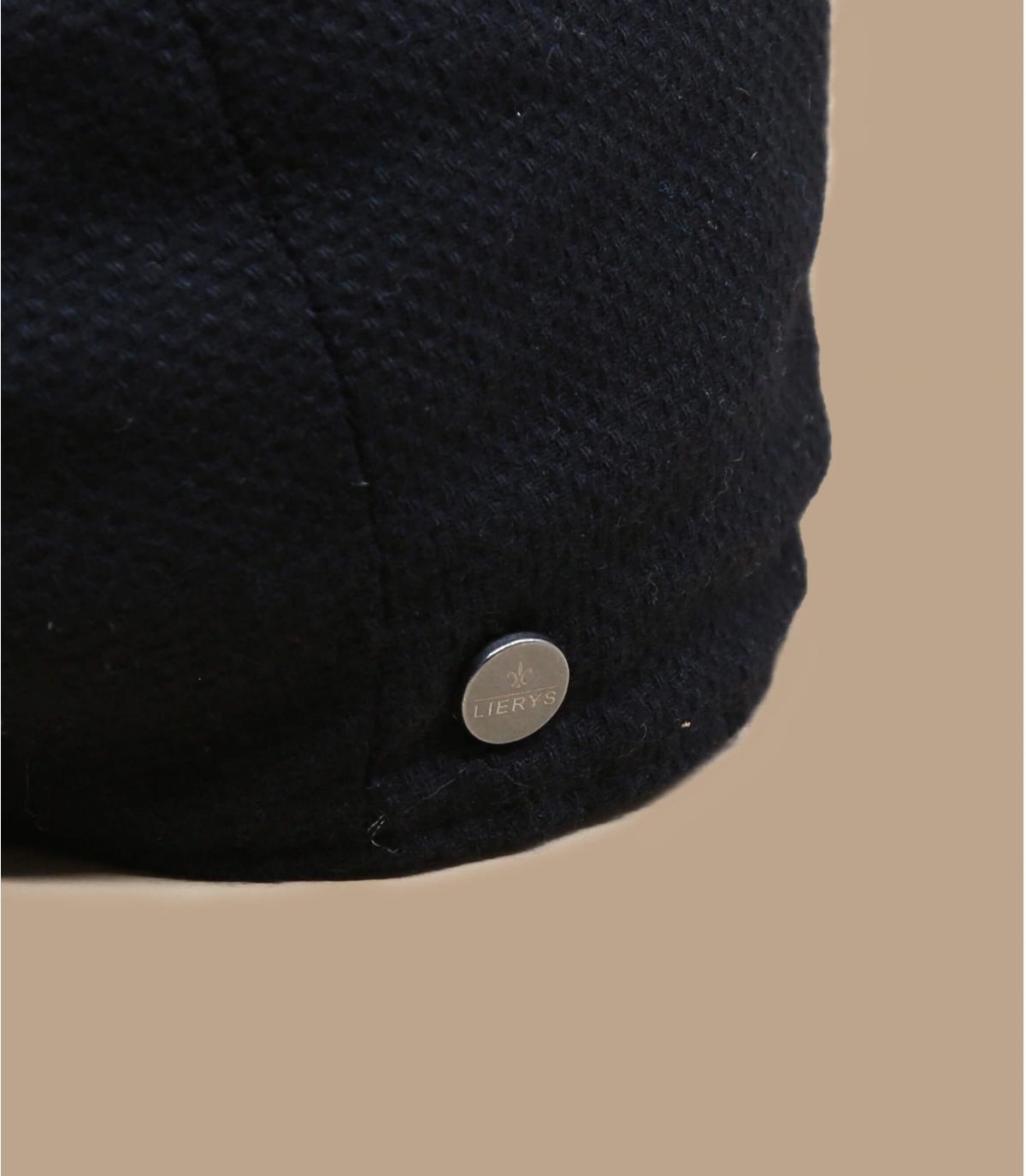 béret gavroche noir laine