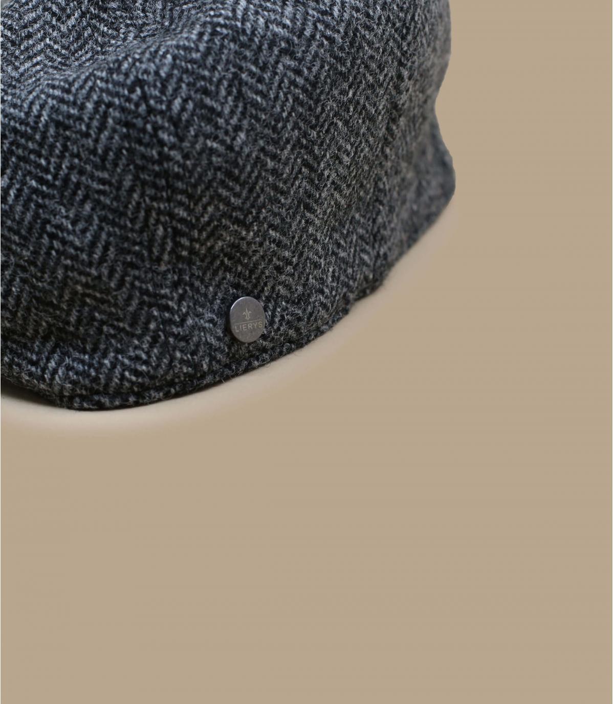 Détails Britton Wool Herringbone grey - image 2