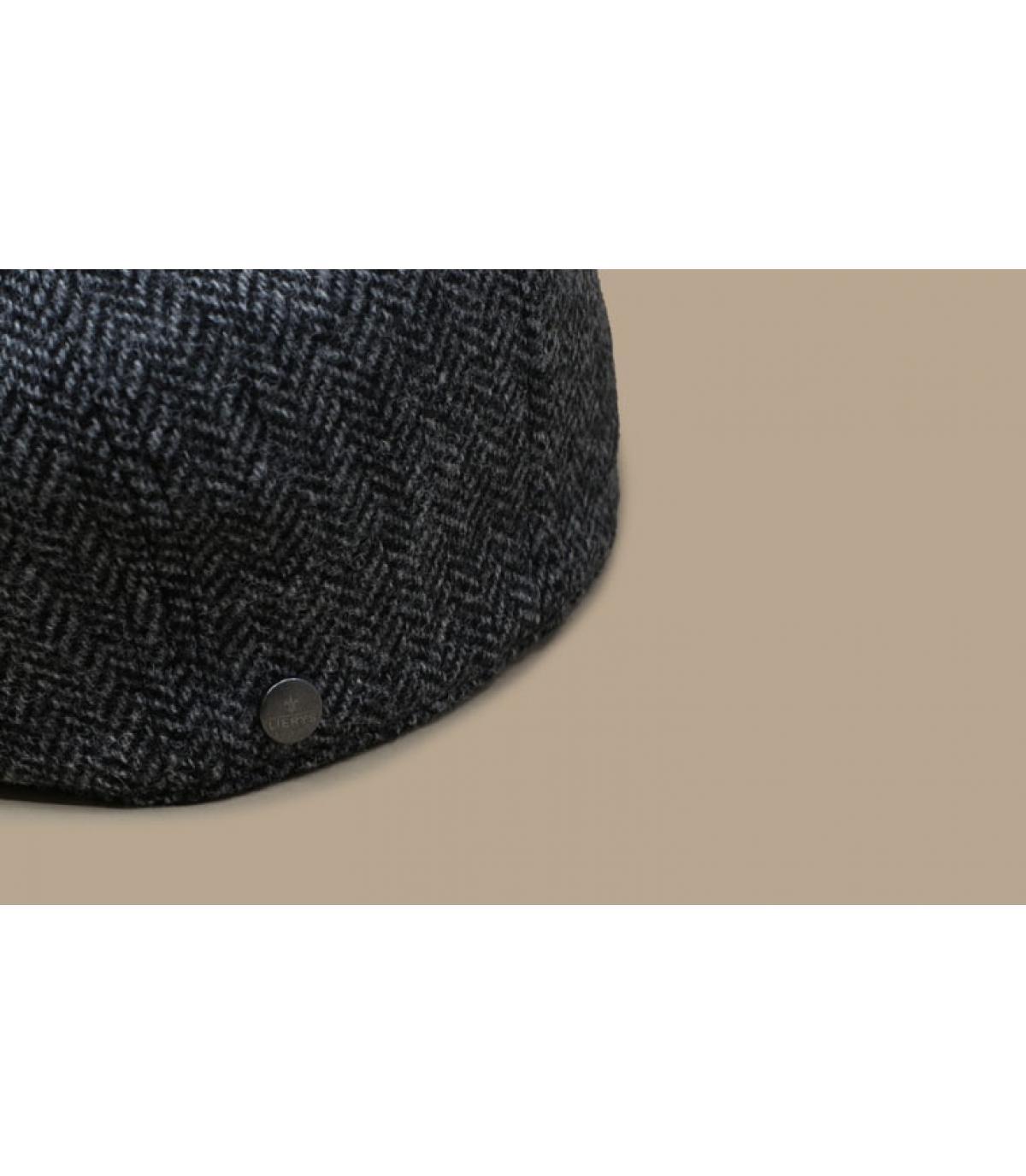 Détails Britton Wool Herringbone grey - image 3