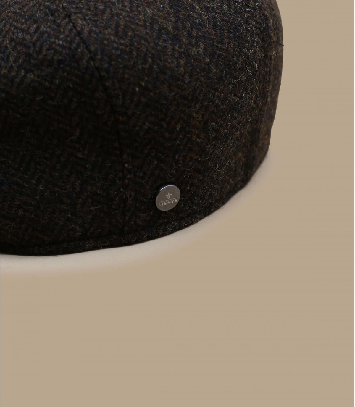 Détails Britton Wool Herringbone brown - image 2
