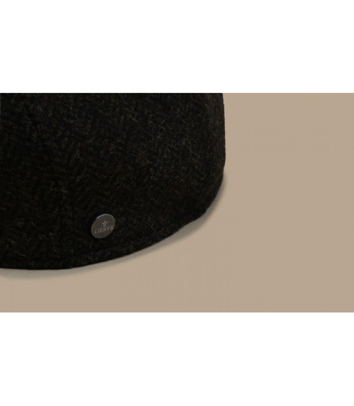 Détails Britton Wool Herringbone brown - image 3