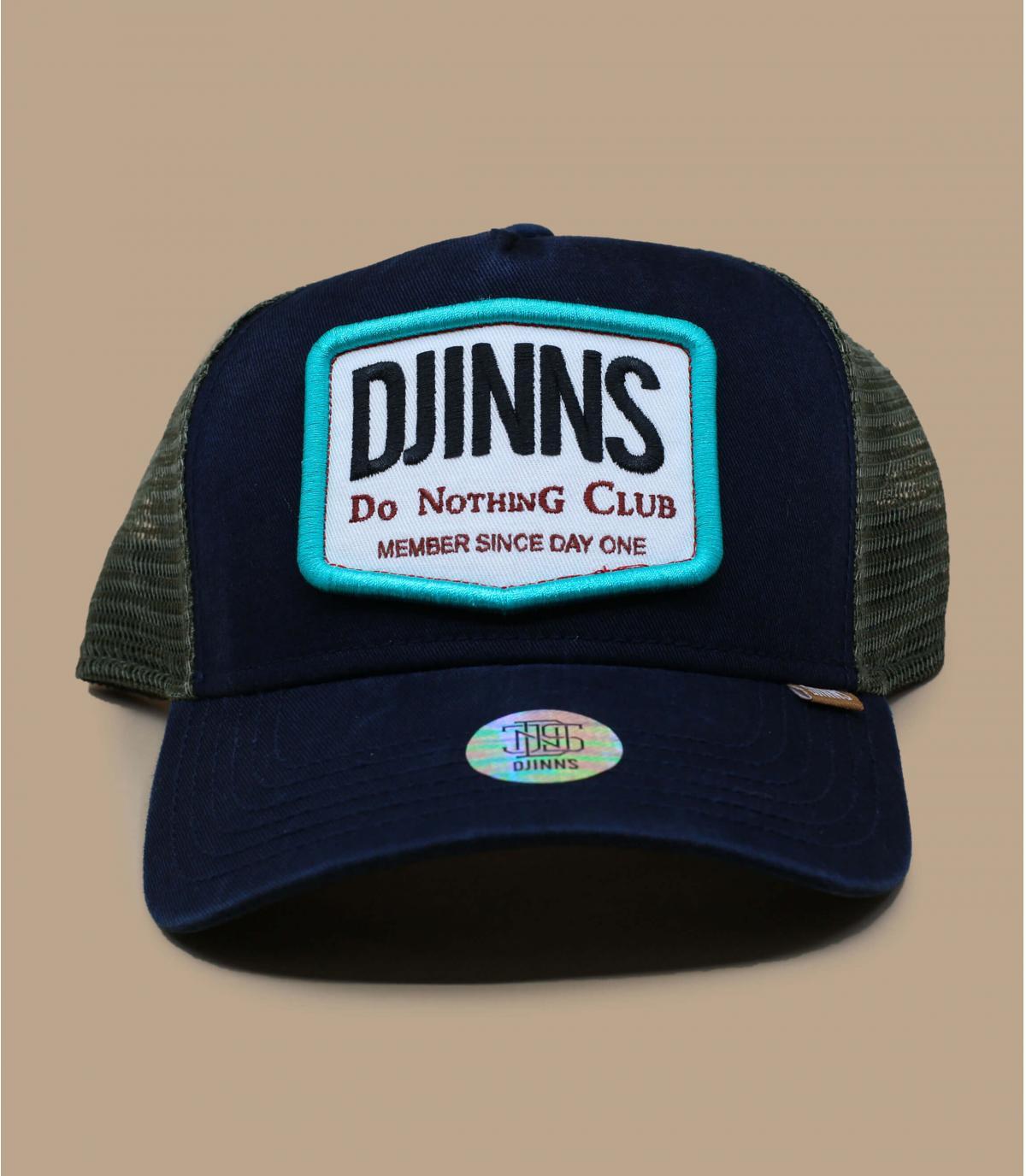trucker Djinns bleu