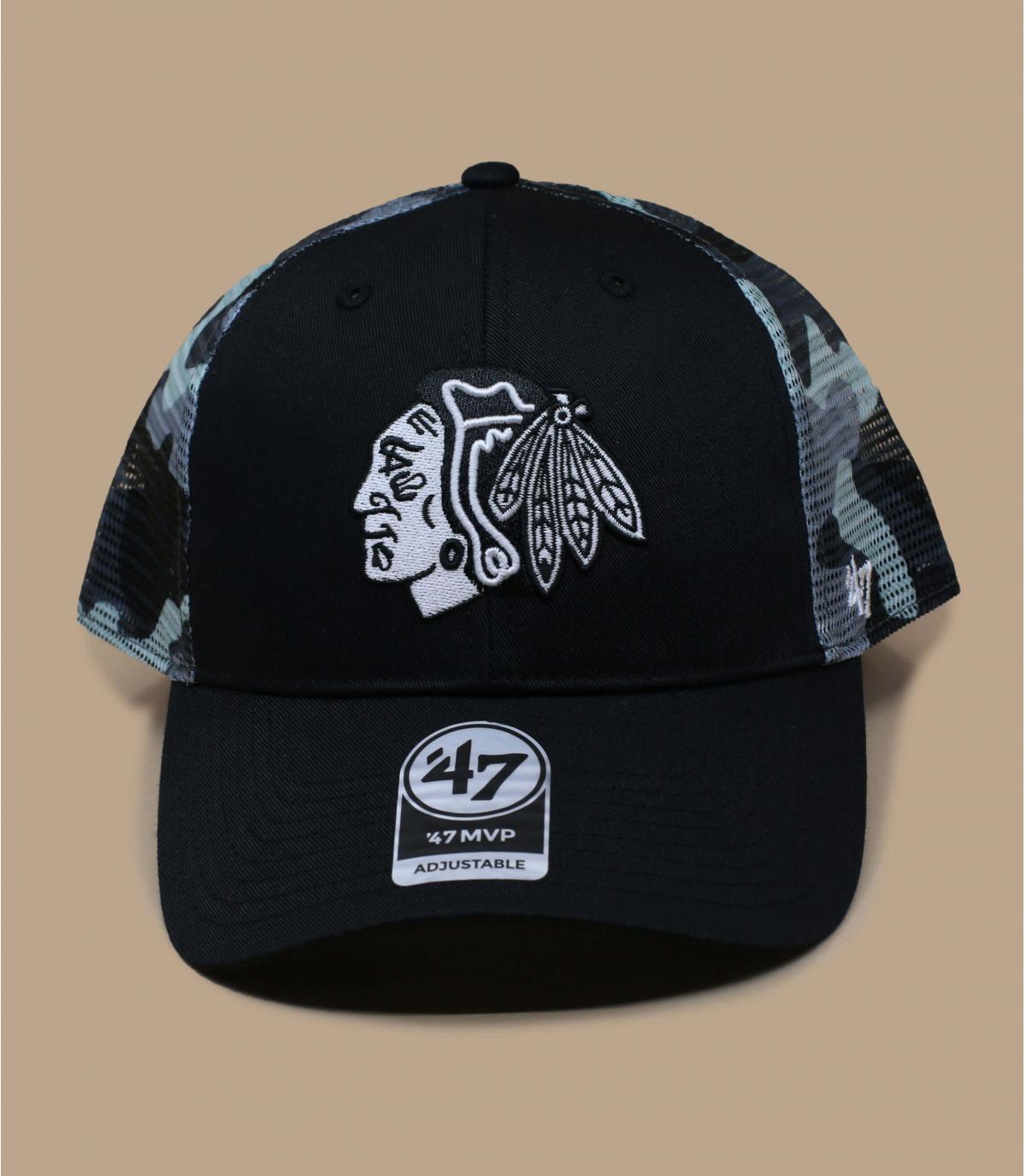 Détails MVP Blackhawks black camo grey - image 2
