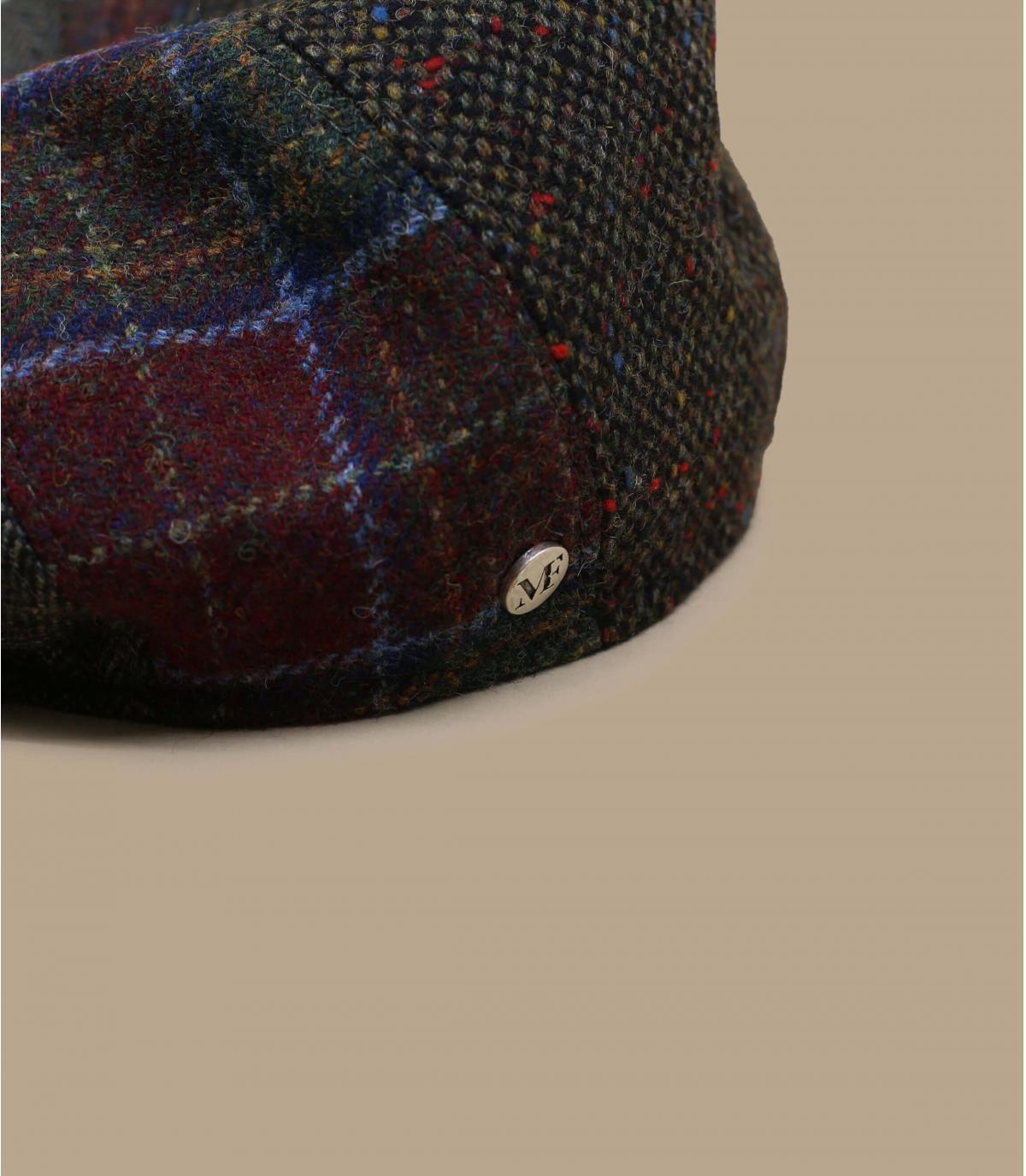 béret gavroche patchwork laine
