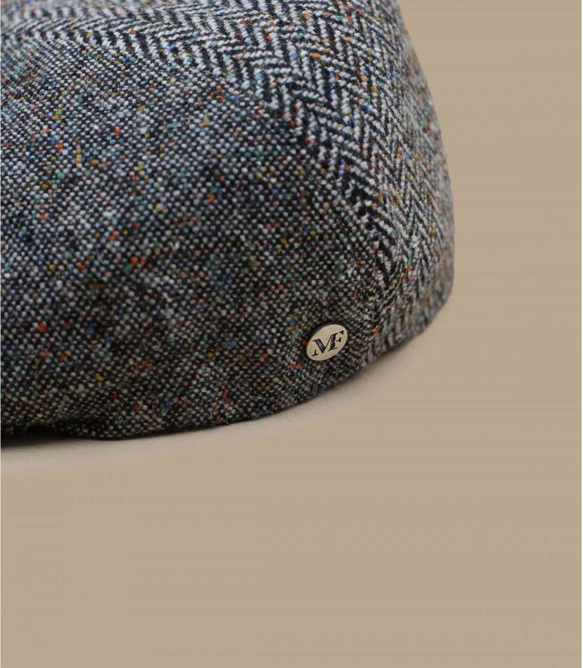 béret gavroche gris chiné laine
