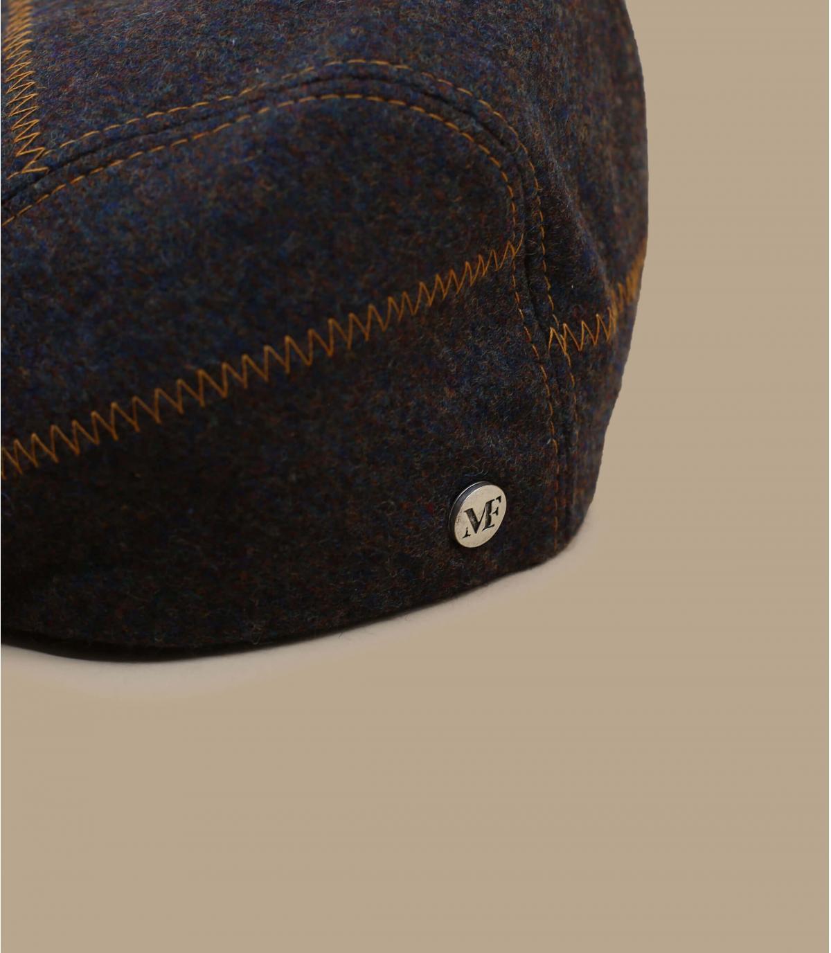 béret brun laine