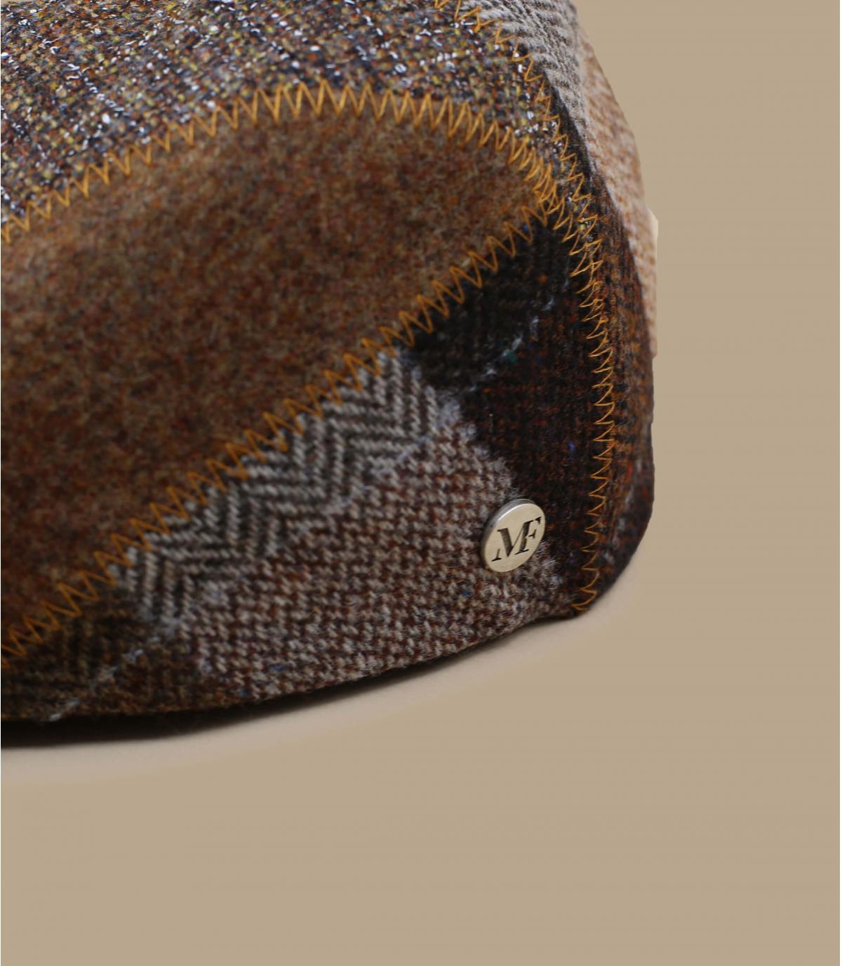 béret laine brun Fléchet