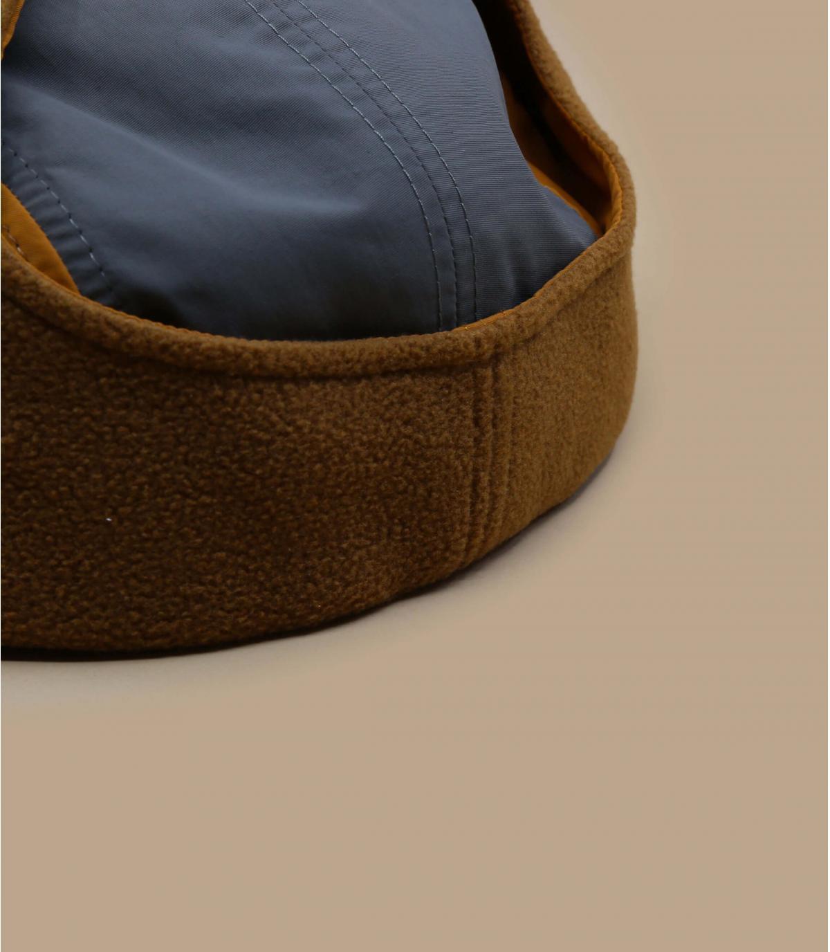 Détails Camper Dogear Micro Fleece brown - image 4