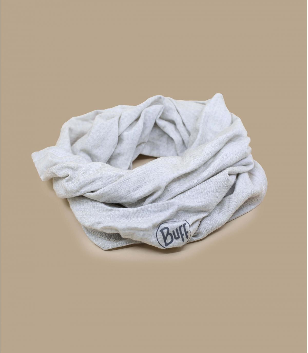 Buff blanc laine mérinos