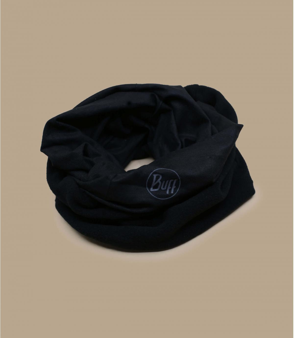 Buff polaire noir