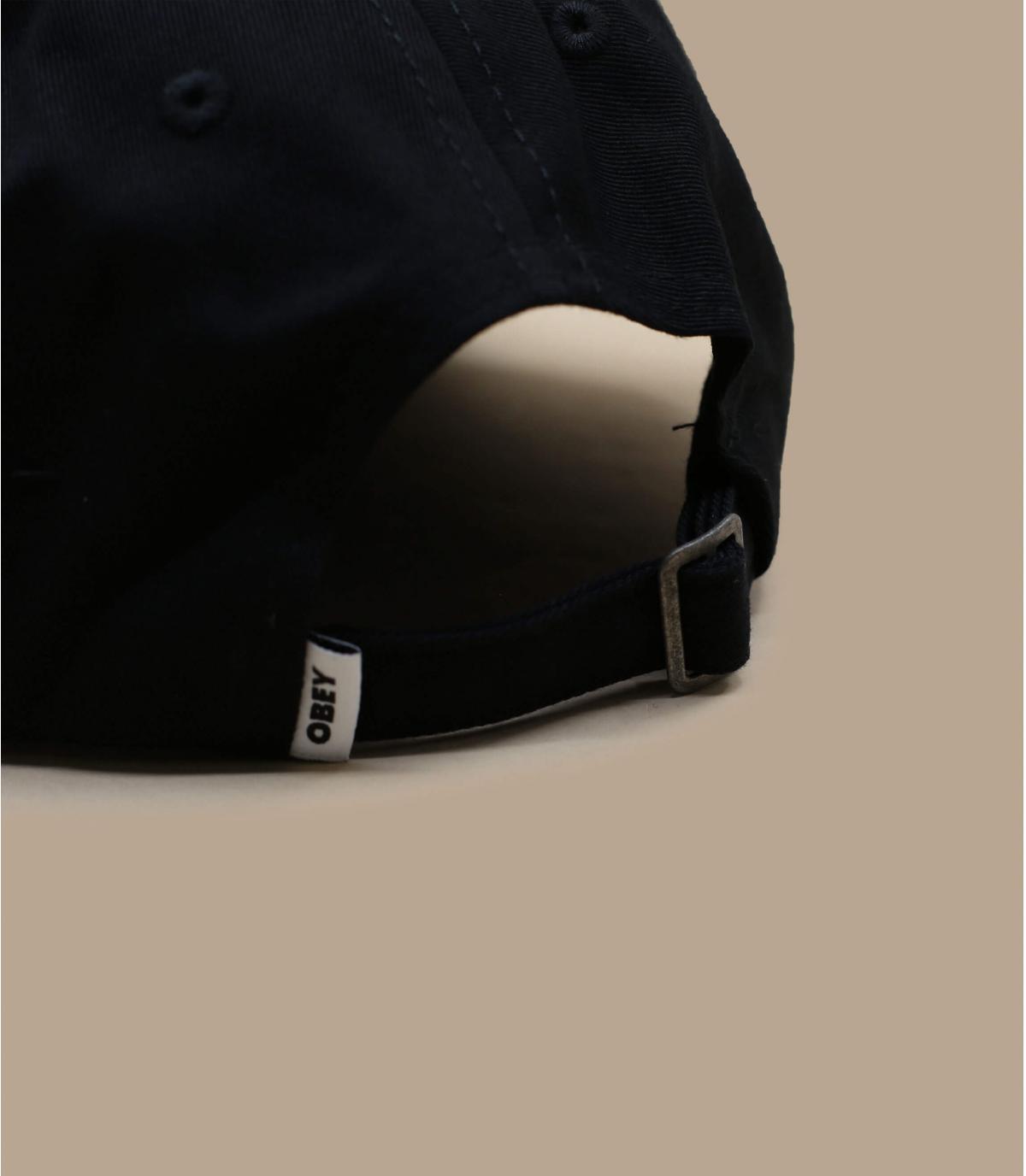 Détails Bold Label Organic 6 Panel black - image 4