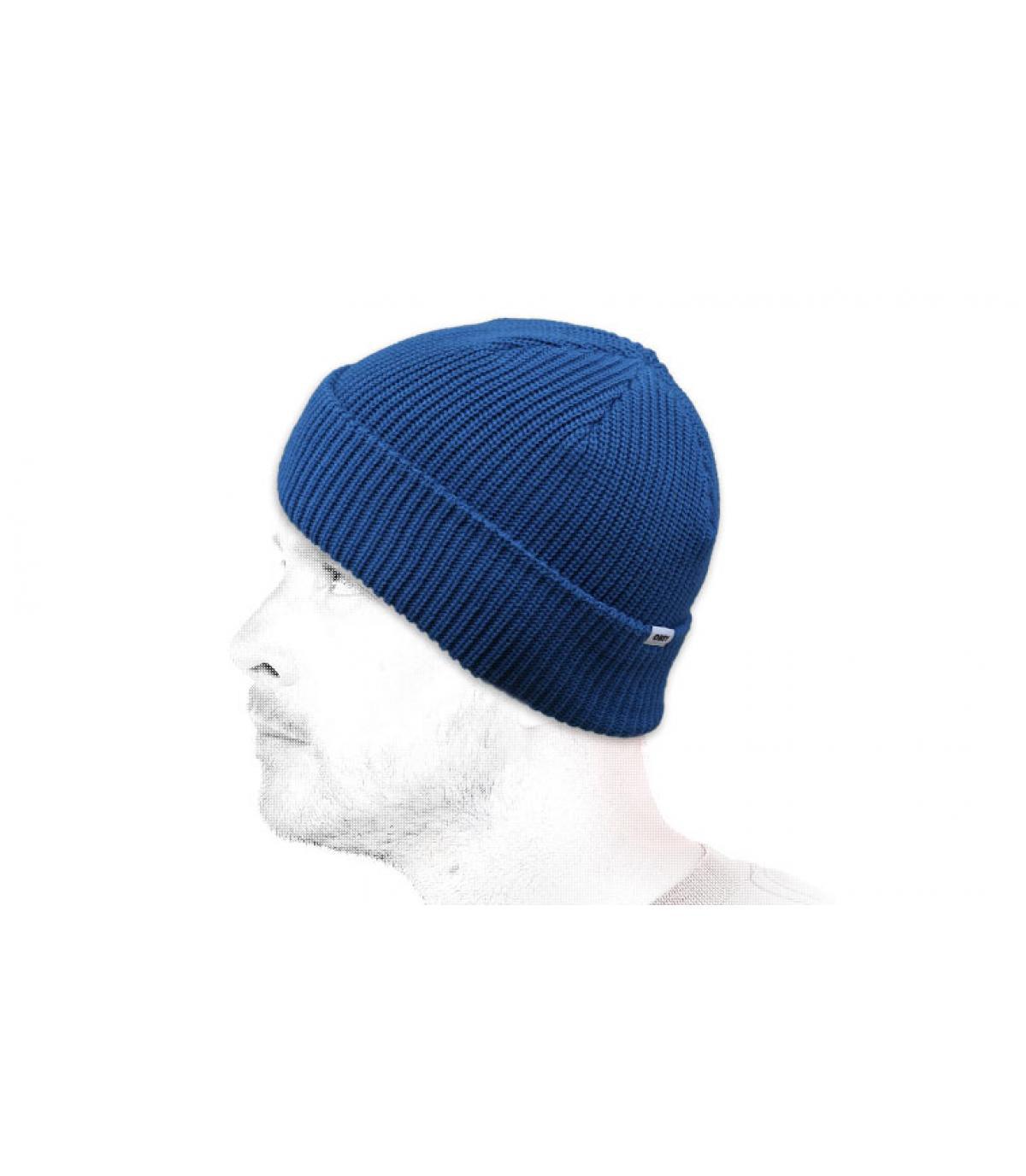 bonnet bleu clair Obey