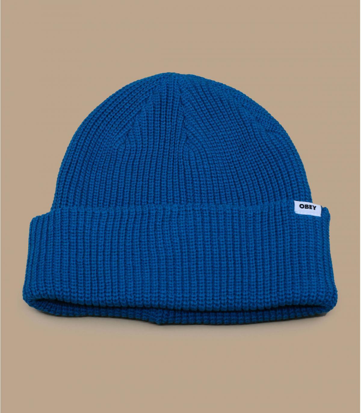 Détails Bold Organic Beanie blue sapphire - image 2