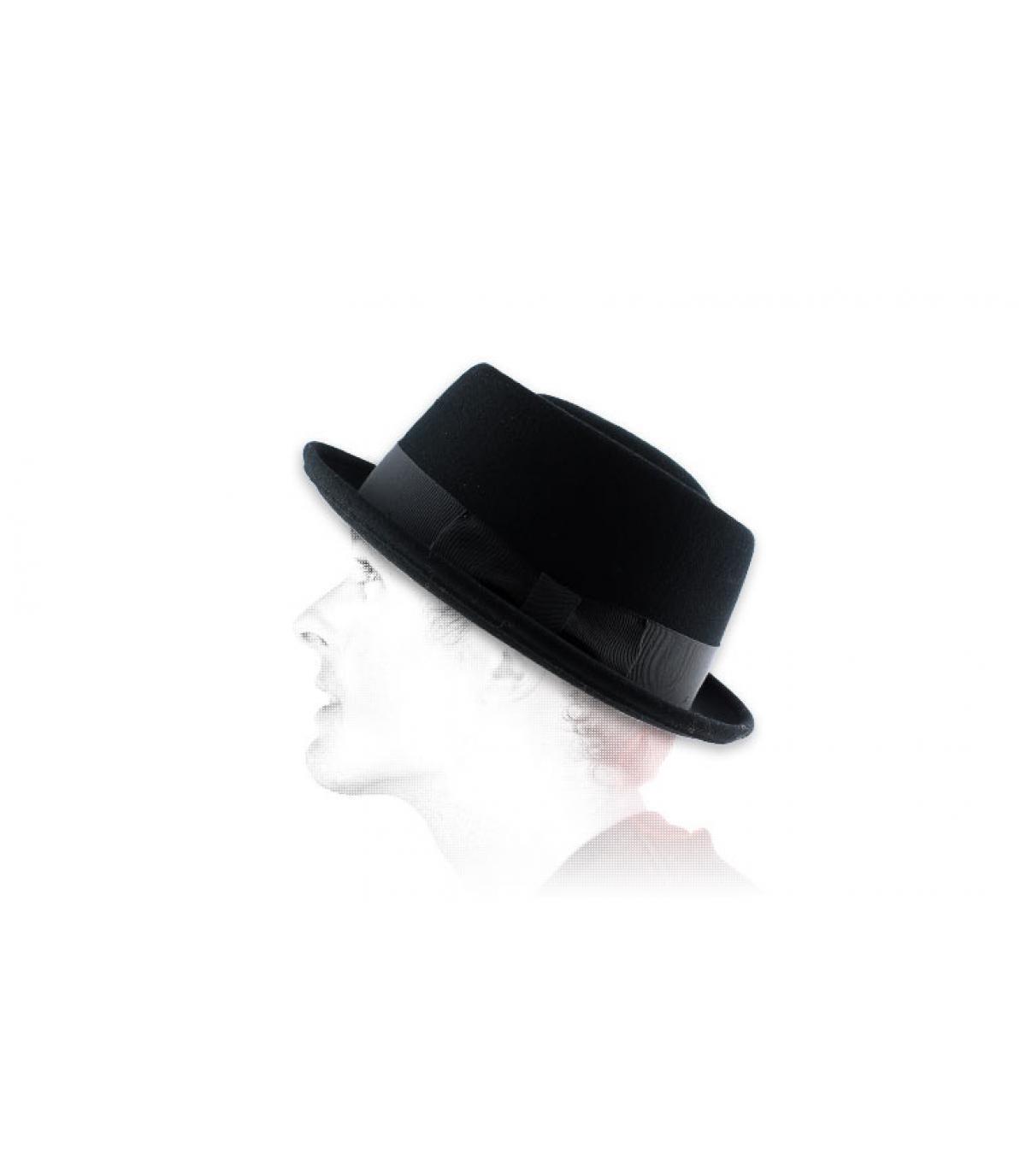 Chapeau homme Bailey noir