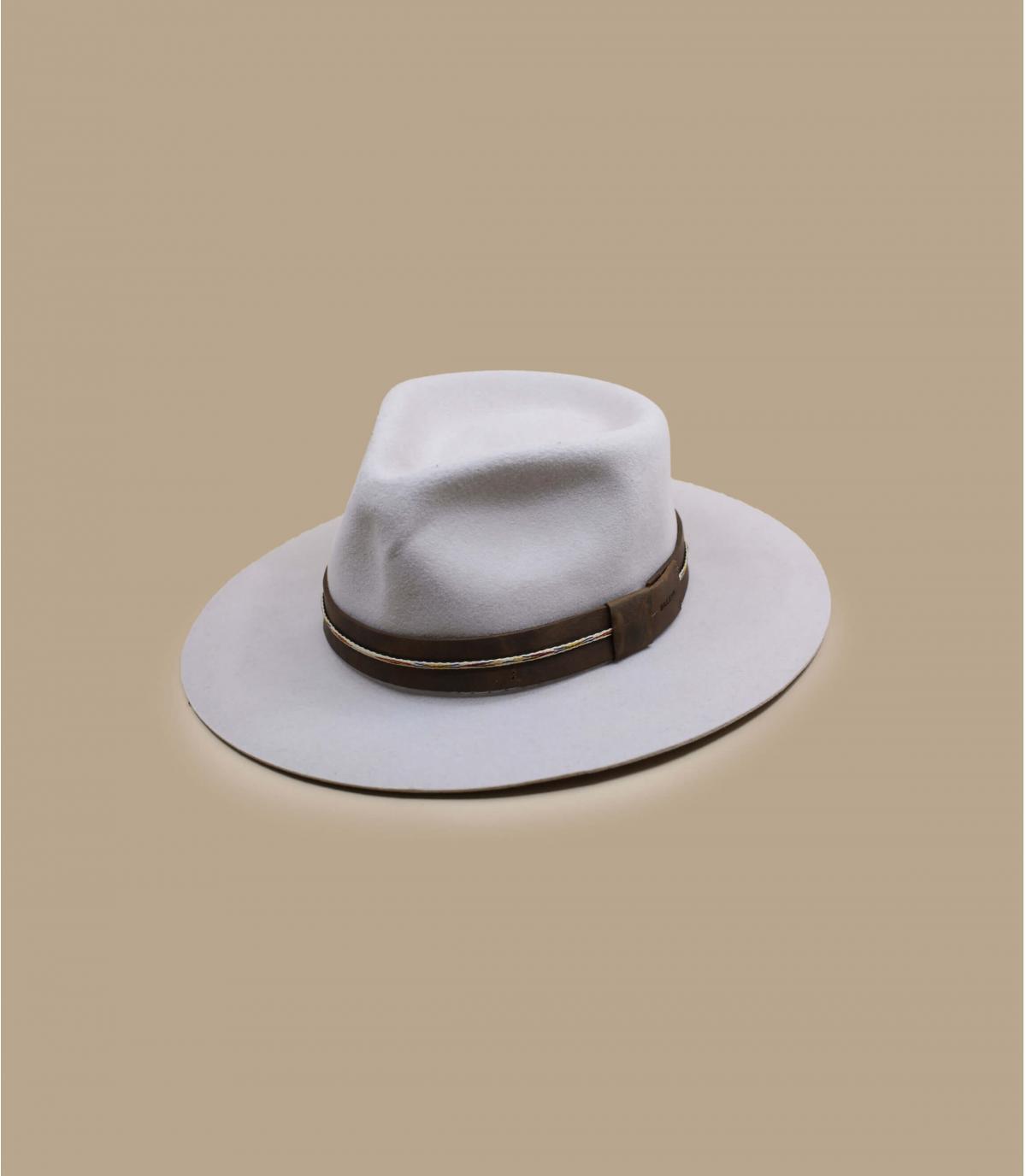 chapeau feutre beige Bailey