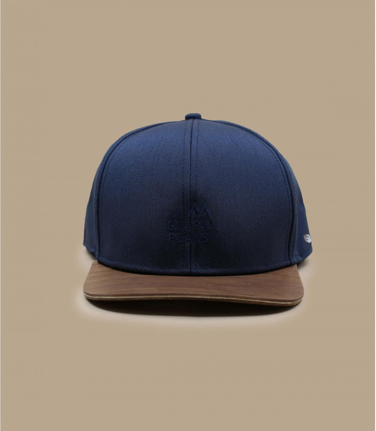Détails Snapback Recycled navy - image 2