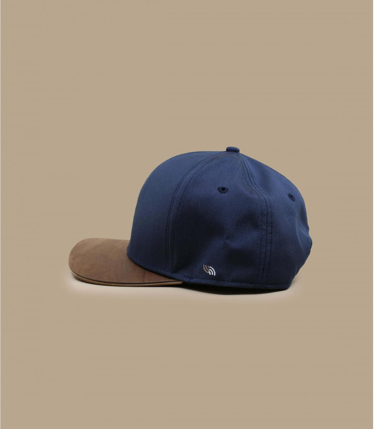 Détails Snapback Recycled navy - image 3