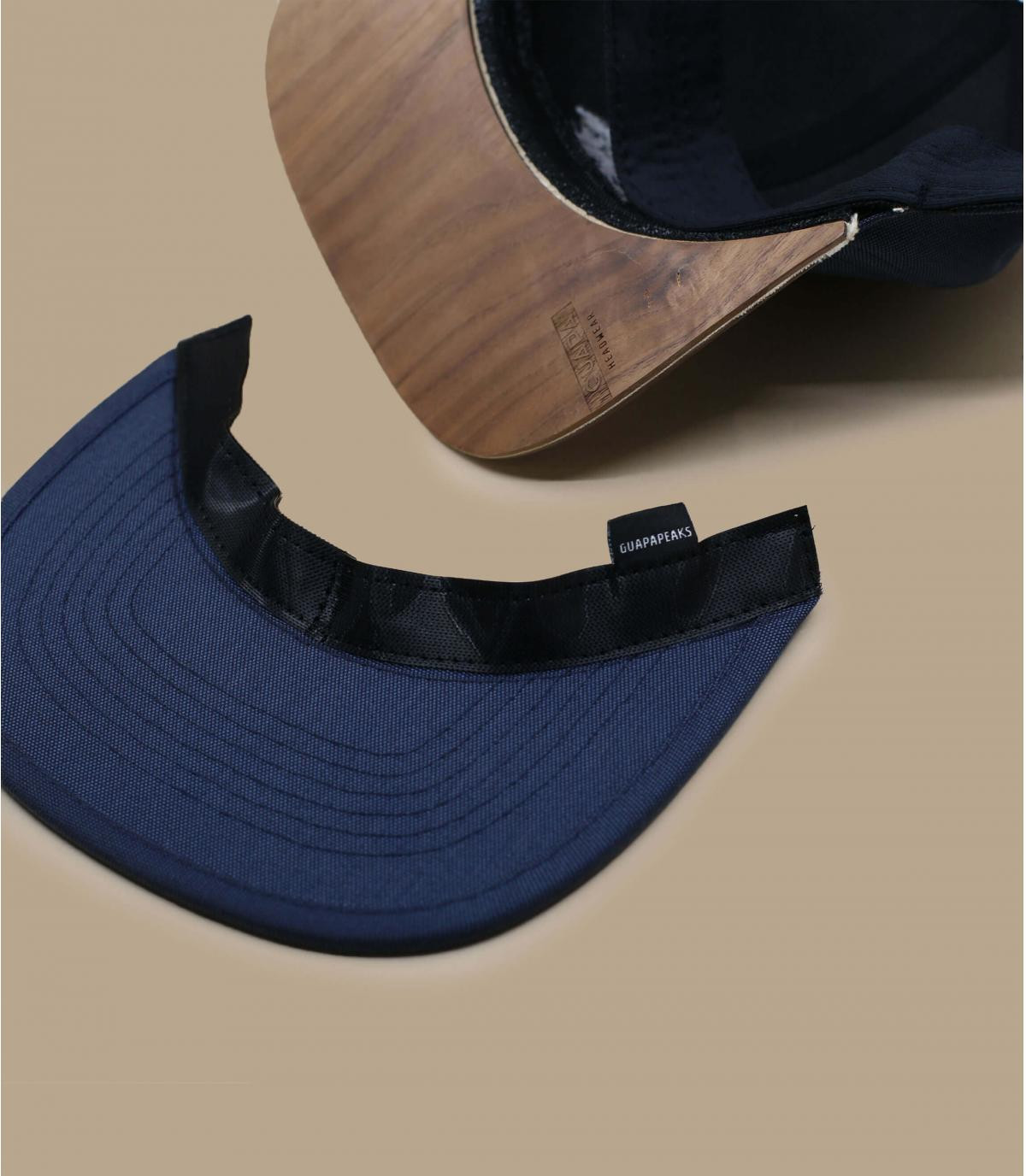 Détails Snapback Recycled navy - image 5