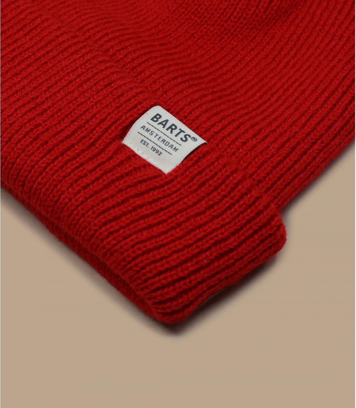 bonnet docker rouge Barts