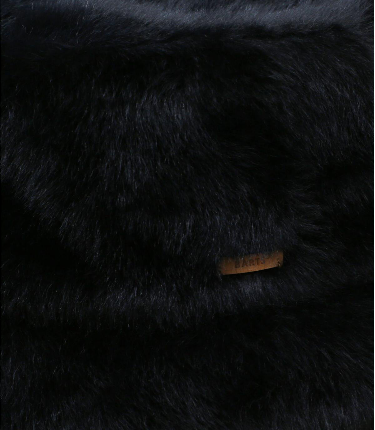 bob noir fourrure