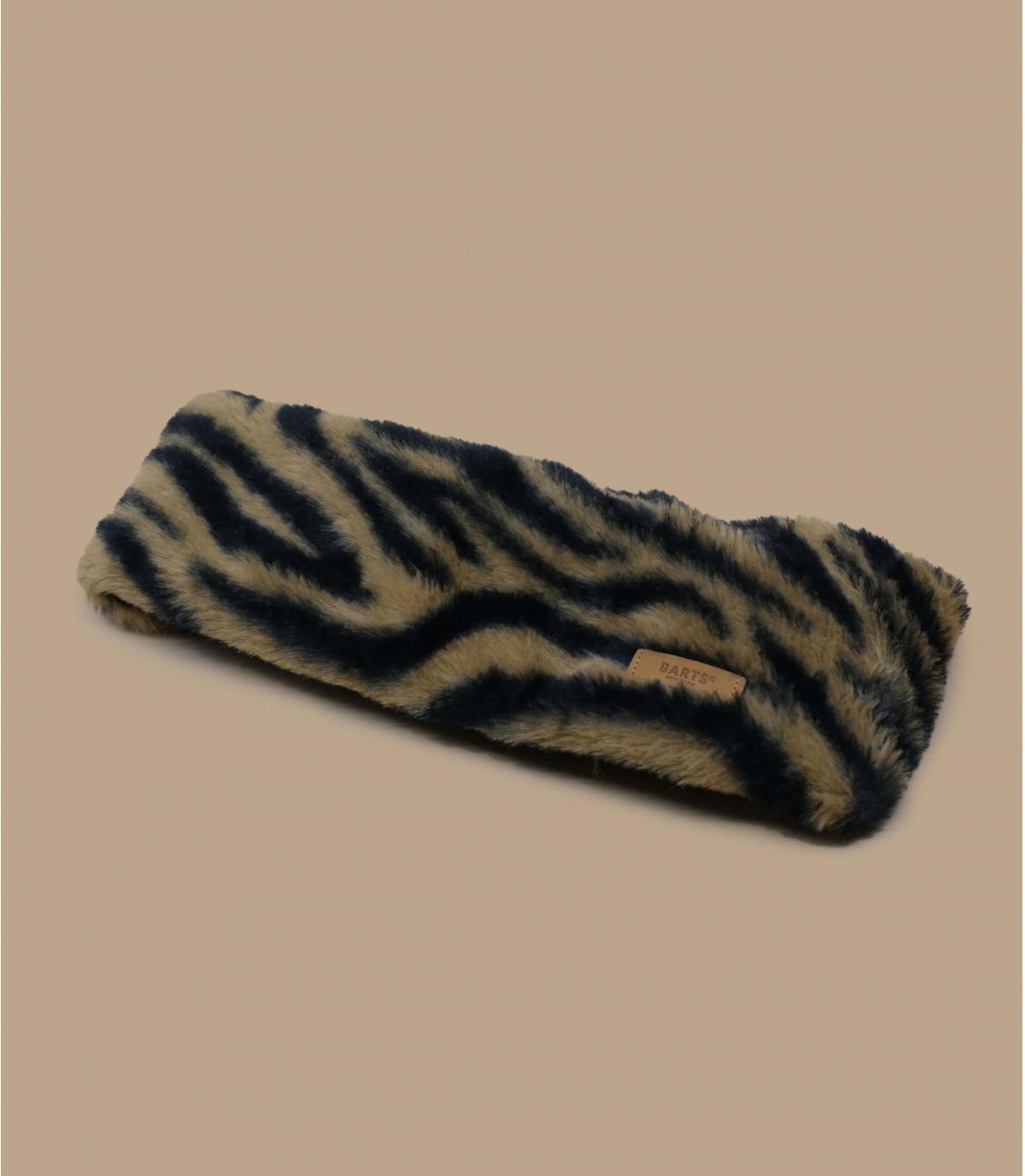 Détails Calla Headband print brown - image 2