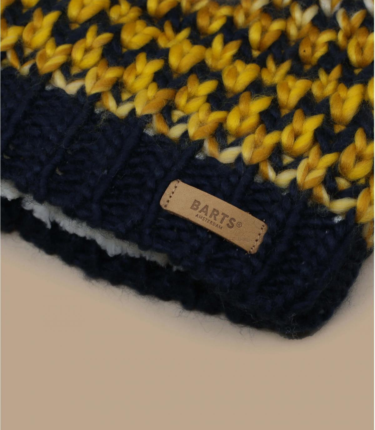 Détails Nicole Beanie yellow - image 2