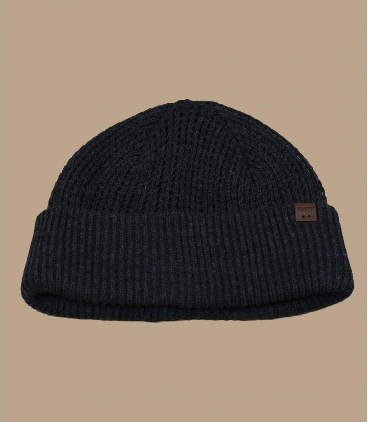 bonnet docker gris chiné