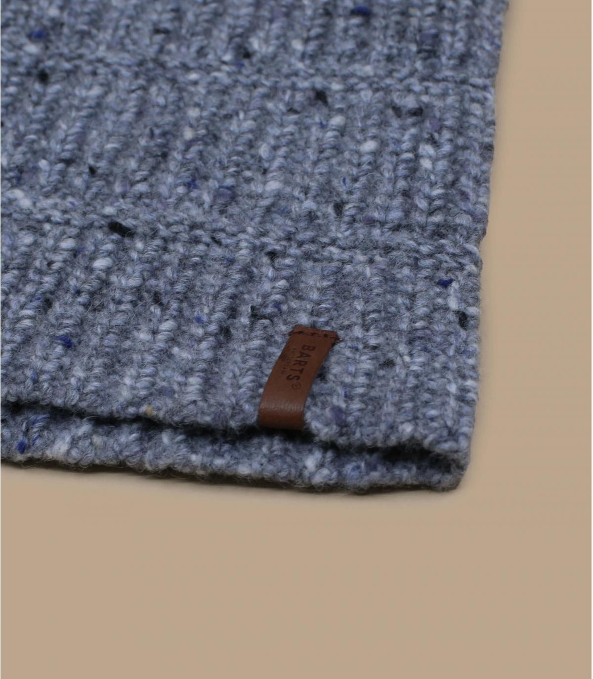 bonnet long gris laine alpaga