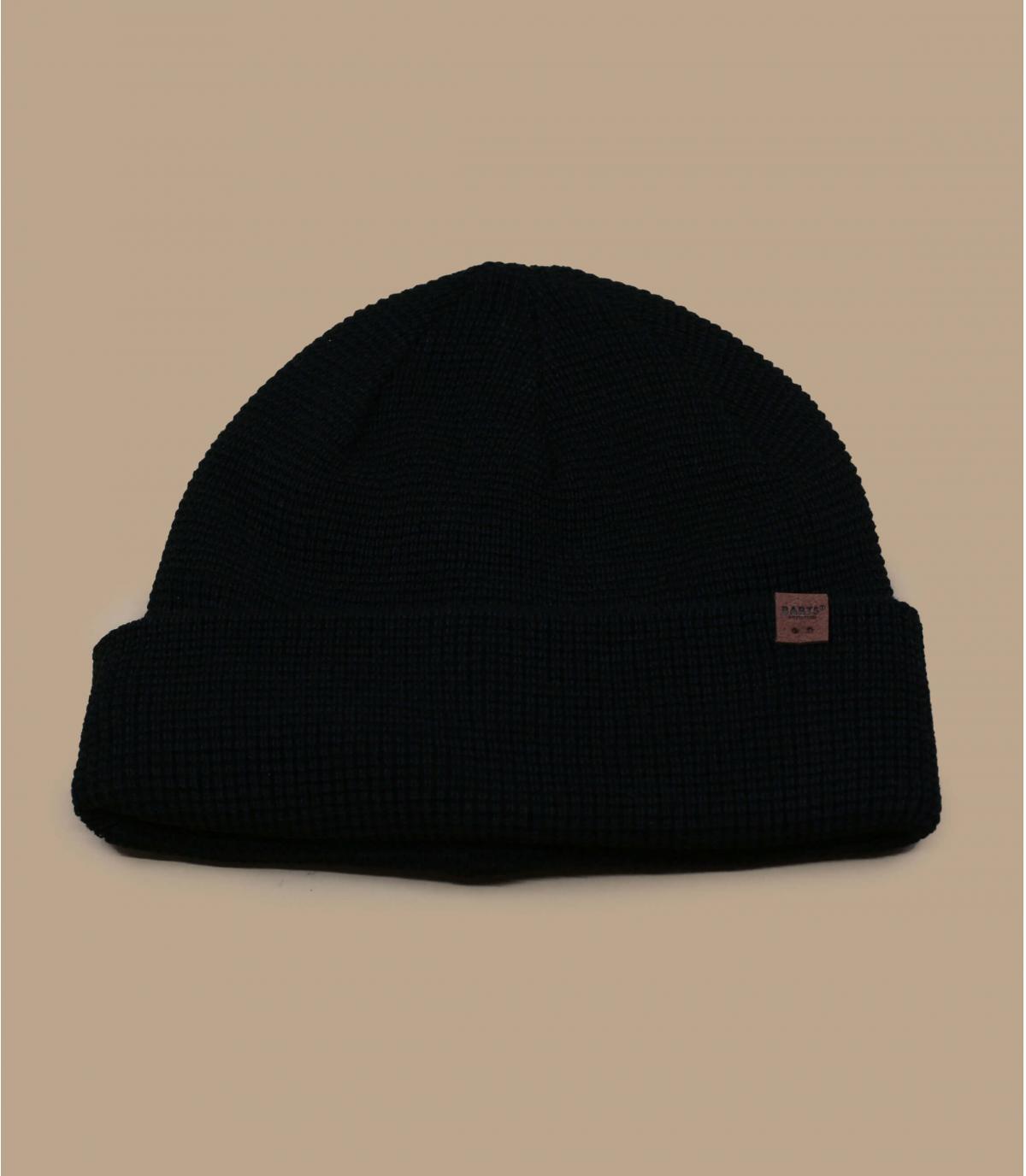 bonnet long noir