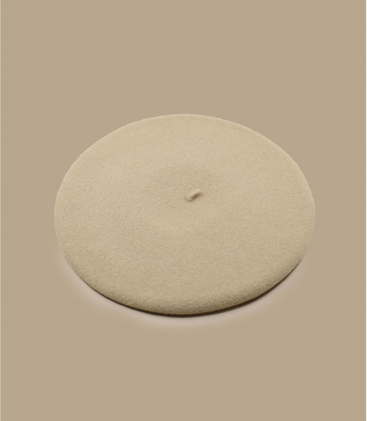 béret beige Laulhère