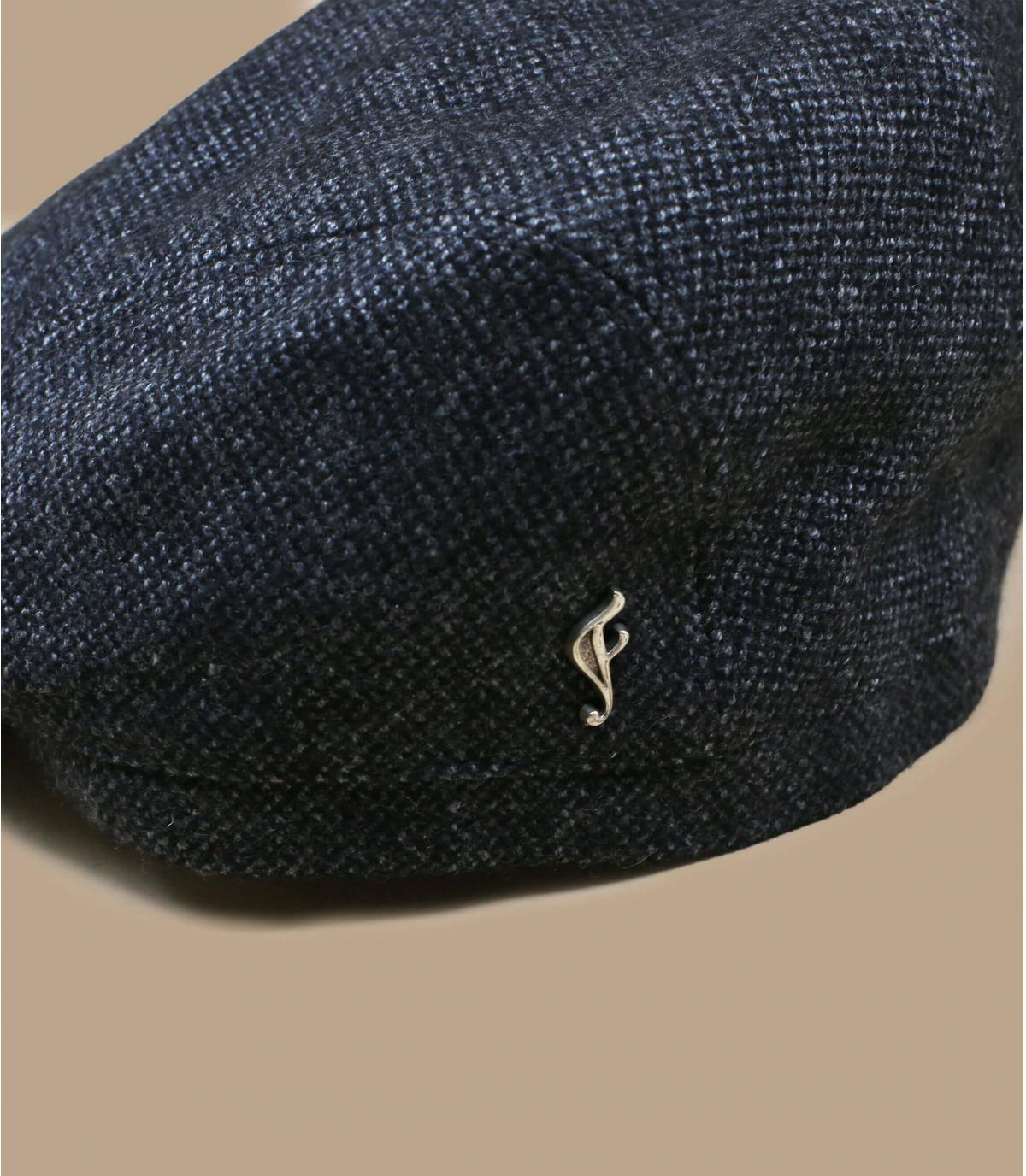 béret gris laine bio