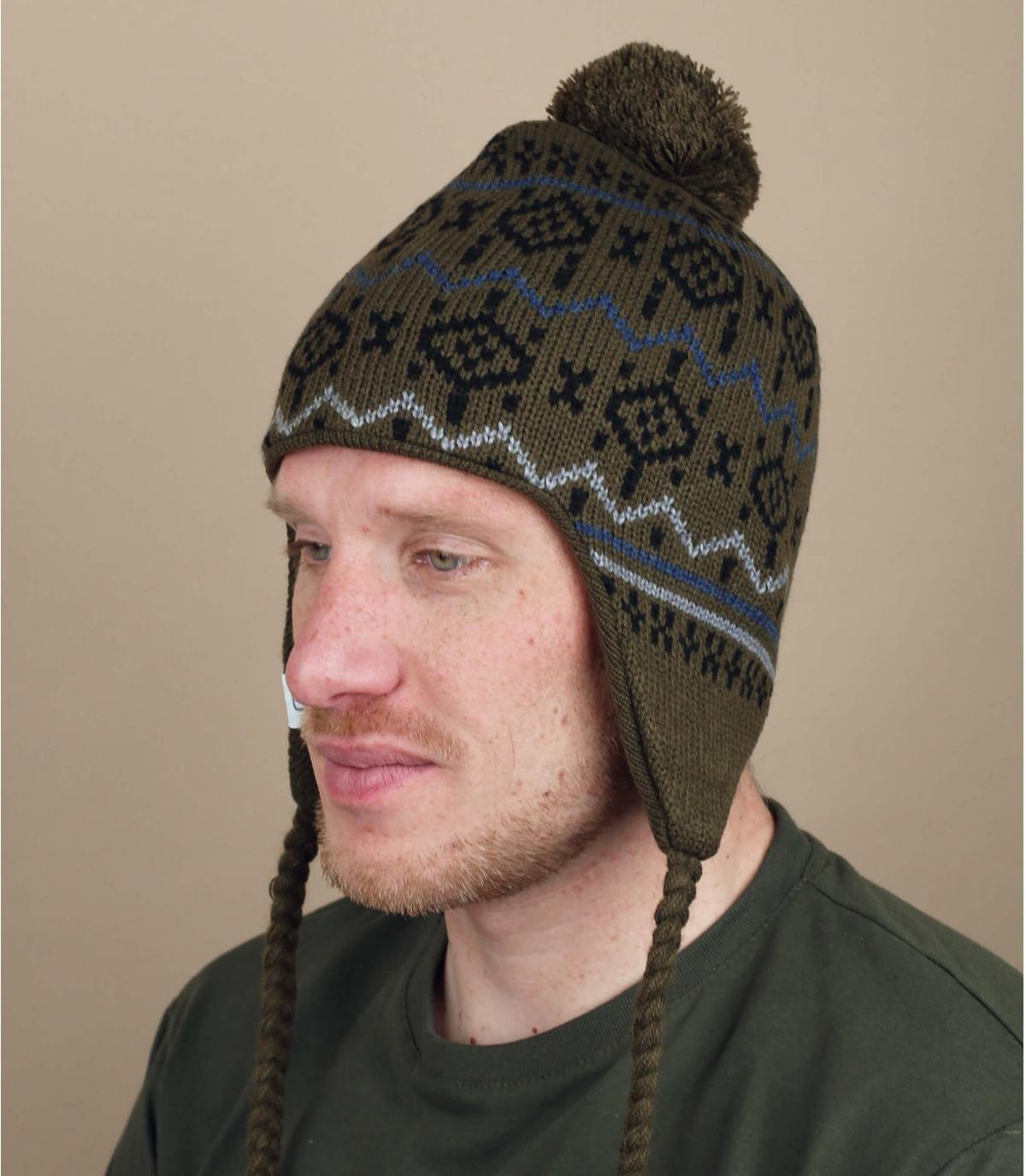 bonnet péruvien vert Coal