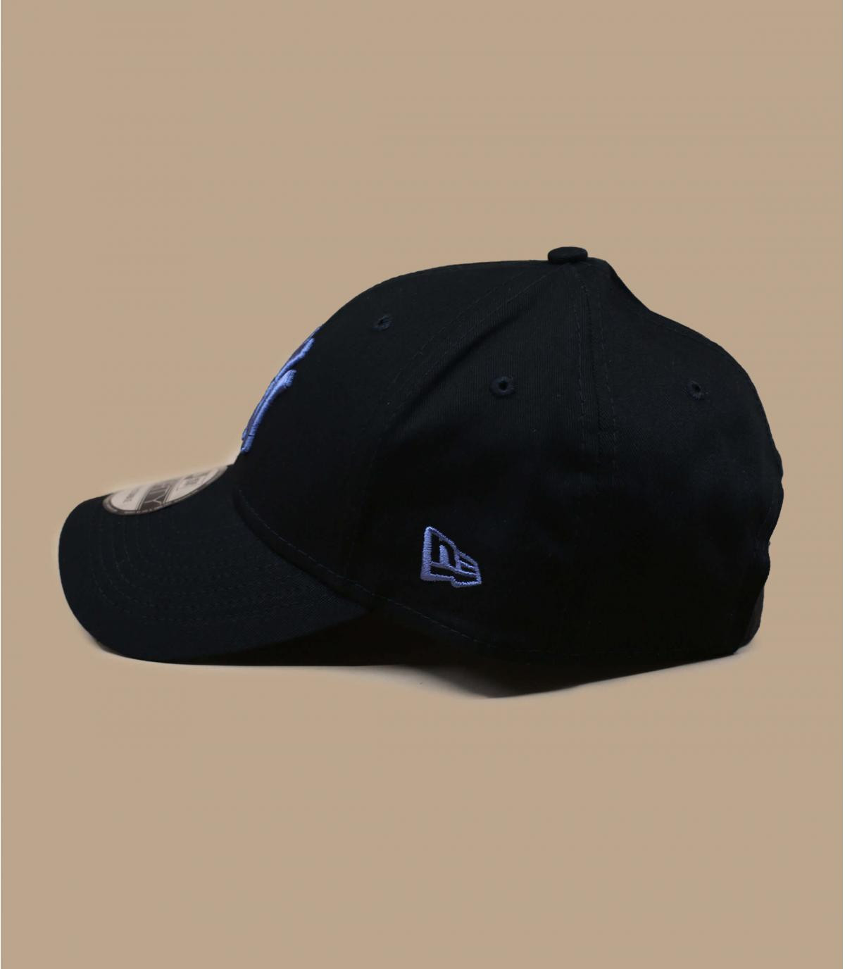 casquette NY noir bleu