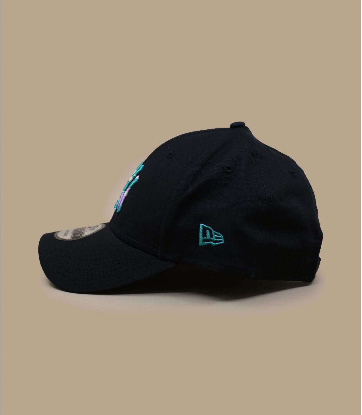 casquette NY noir motif