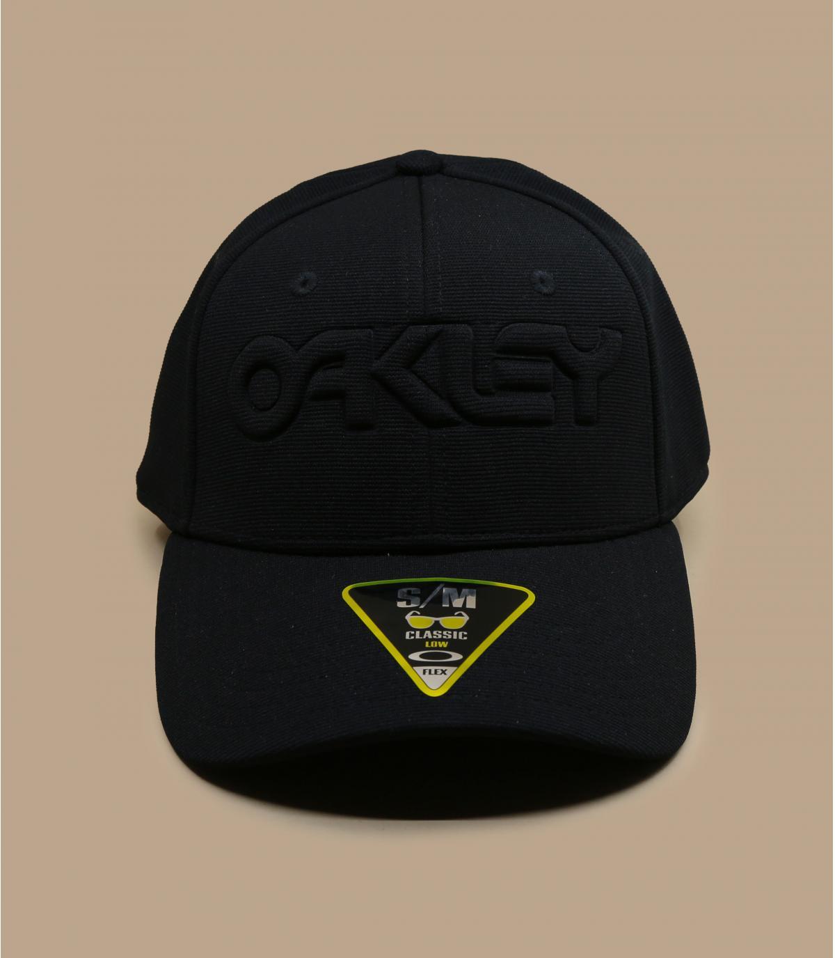 casquette Oakley noir logo