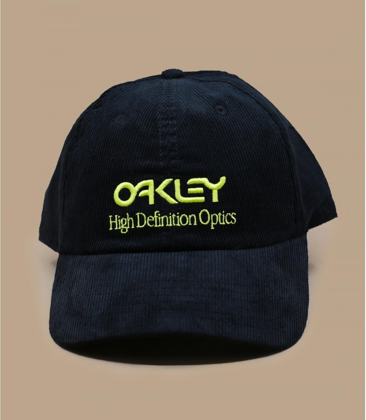 casquette Oakley velours noir