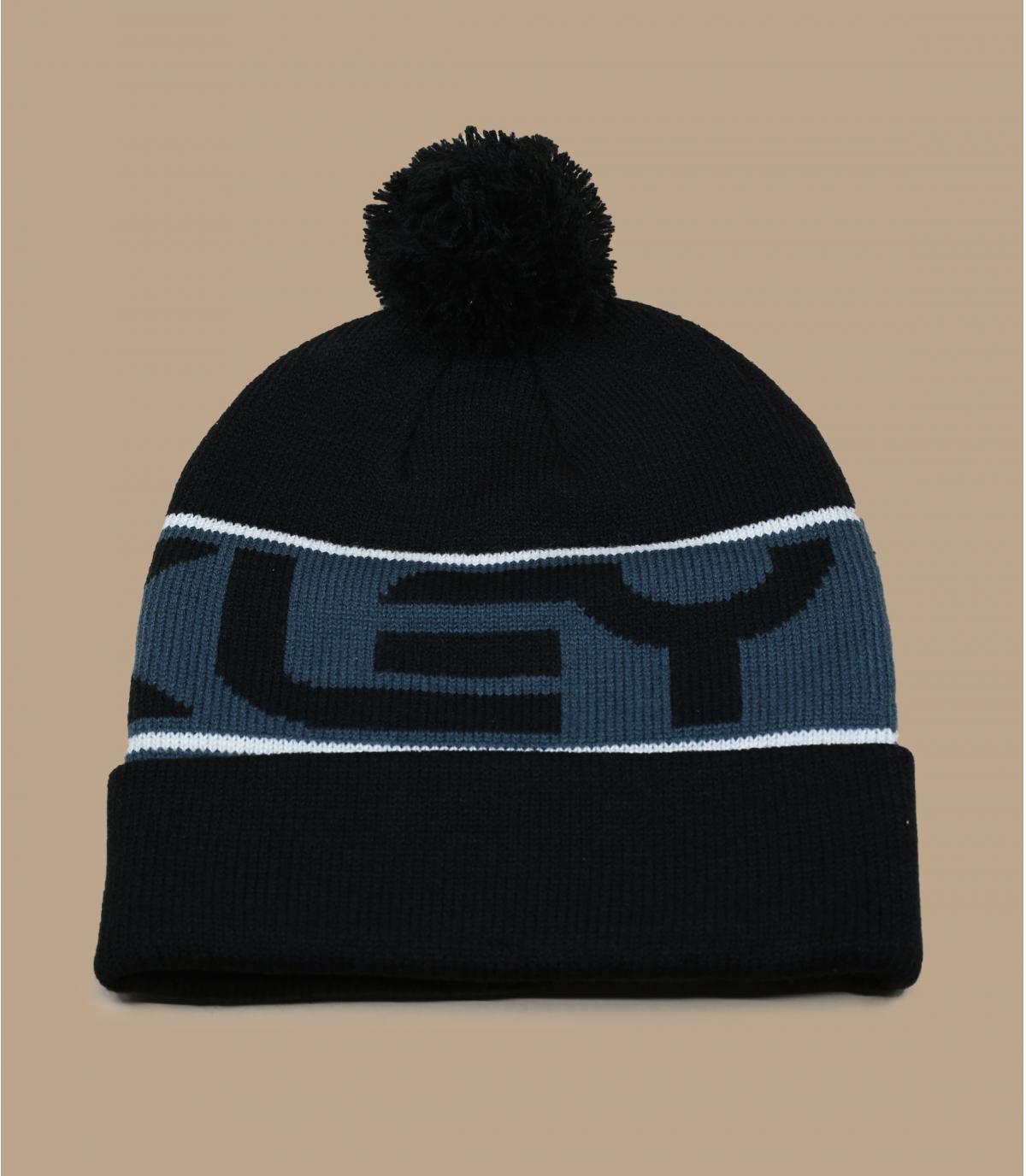 bonnet Oakley noir pompon