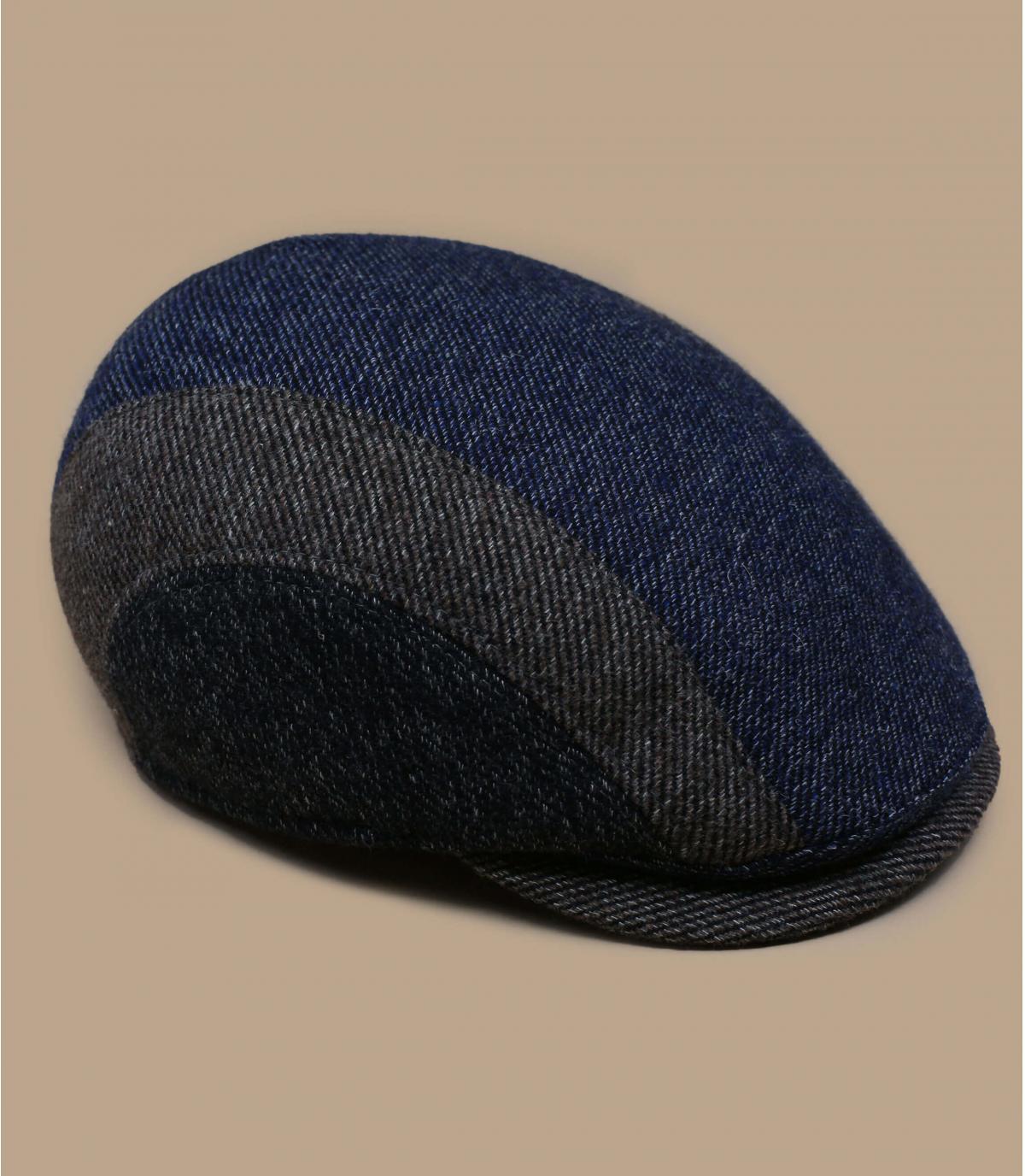 béret laine tricolore