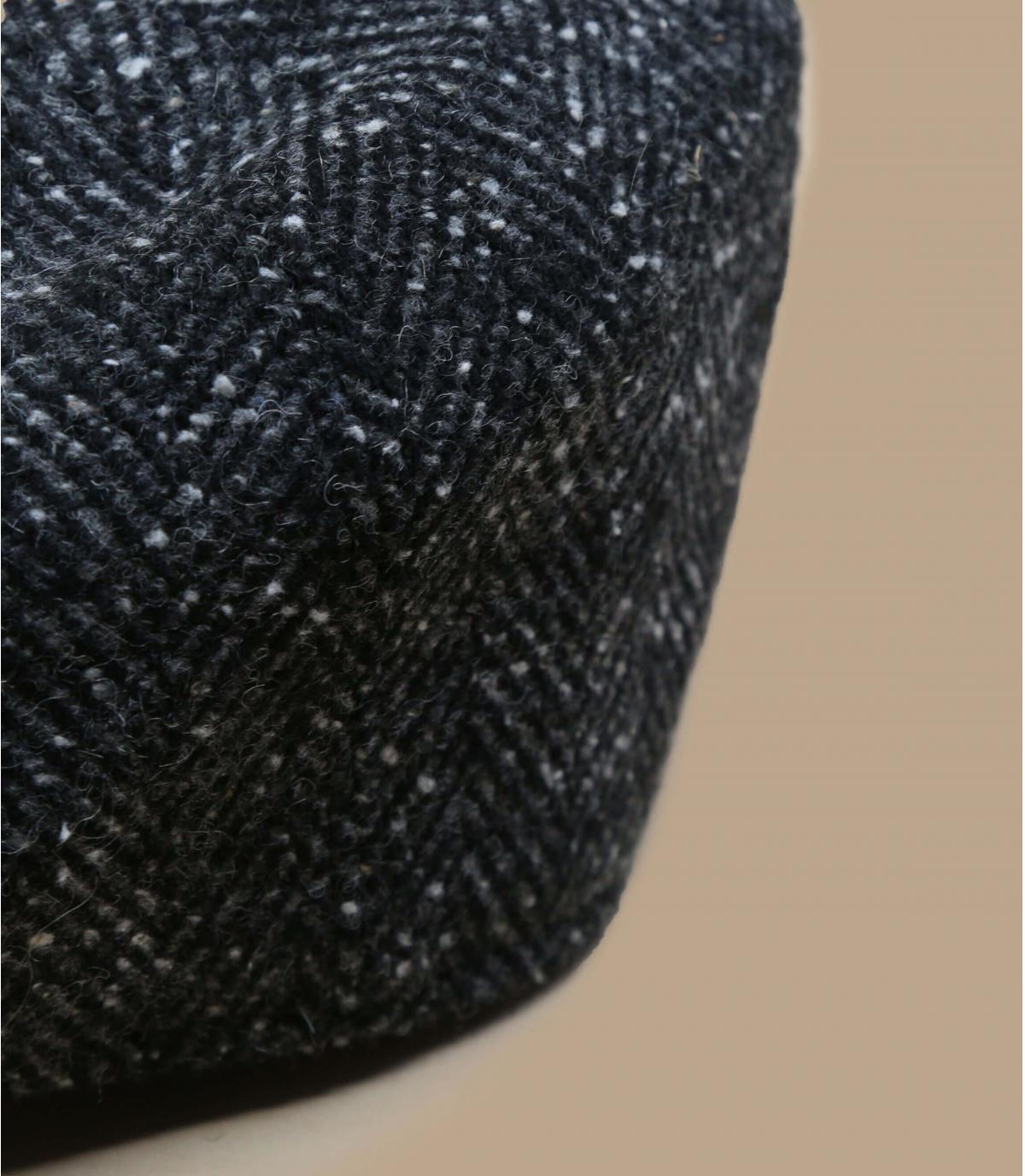 gavroche noir chiné