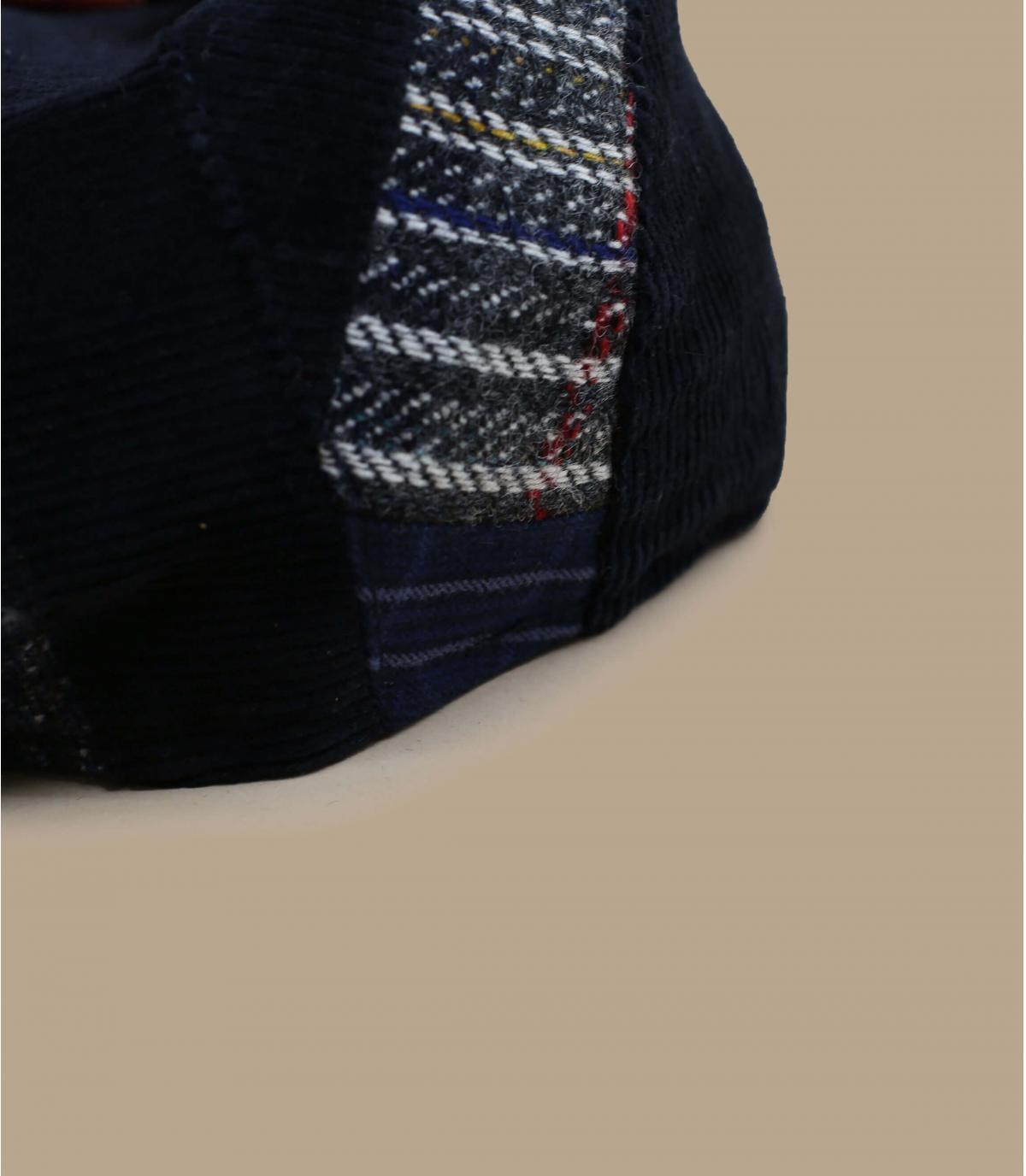 béret patchwork carreaux