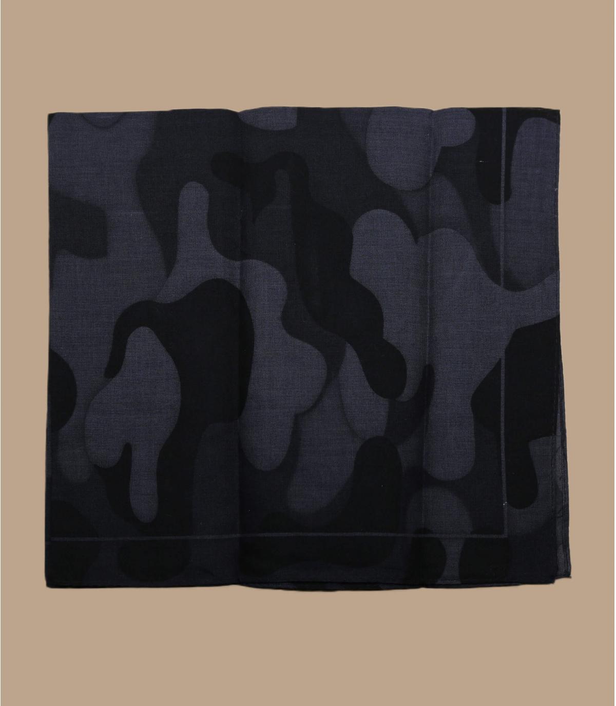 Bandana camo noir