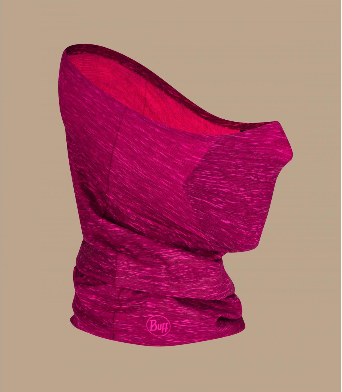 tour de cou masque Covid rose